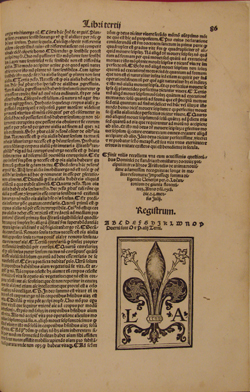 colophon, St. Thomas, Commentary on DE ANIMA (1518), fol. 86