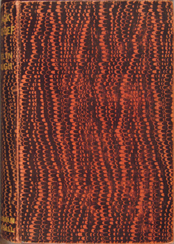 marbled front cover, Waugh, BLACK MISCHIEF (1932)