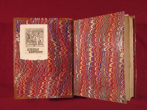 front endpaper with bookplate