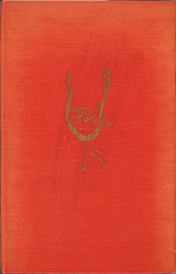 gilt-stamped cover, Waugh, LOVE AMONG THE RUINS (1953)