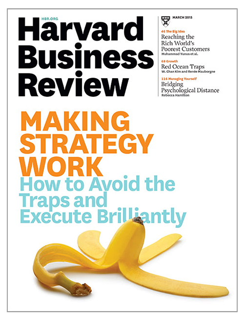 Harvard Business Review Cover.