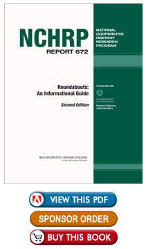 Thumbnail image of NCHRP Report 672, showing buttons: View this PDF, Sponsor Order, and Buy This Book.