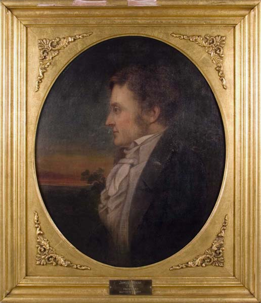 portrait painting of James Moore