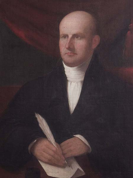 portrait painting of Horace Holley