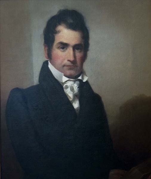 portrait painting of Henry Bascom