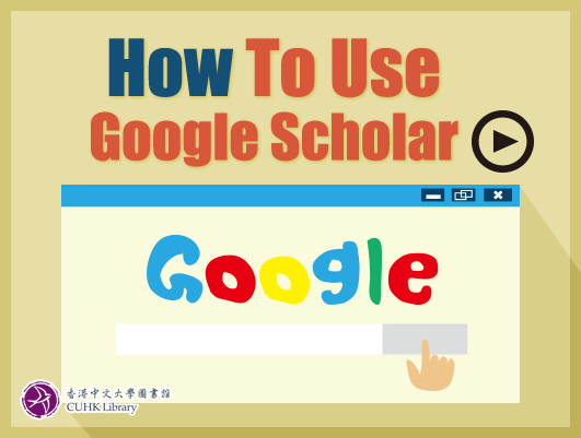 How to Use Google Scholar