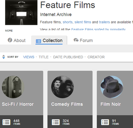 Feature Films - Internet Archives