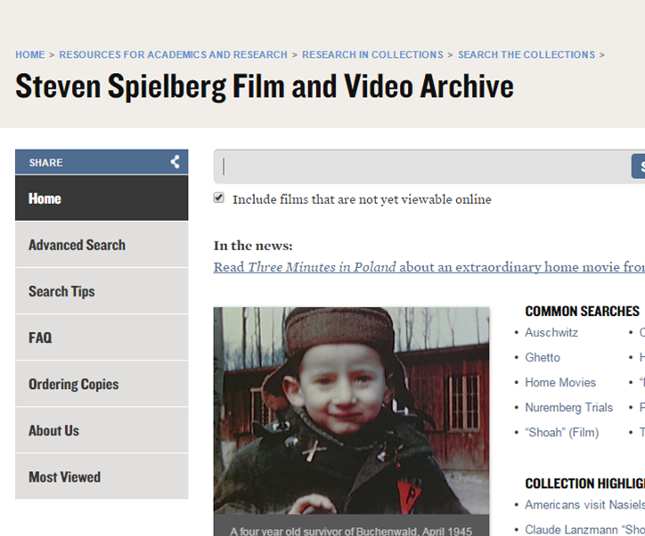 Steven Spielberg Film and Video Archive