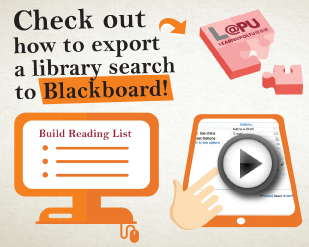 Check Out How To Export a Library Search To Blackboard [3:27]