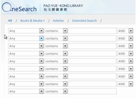 OneSearch: Advanced Search [1:21]