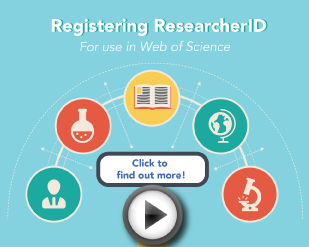 Registering ResearcherID [2:03]