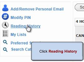 Classic Catalogue: Reading History [0:21]