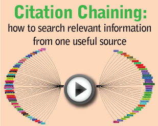 Citation Chaining: How to Search Relevant Information From One Useful Source [1:36]