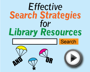 Effective Search Strategies for Library Resources [2:01]
