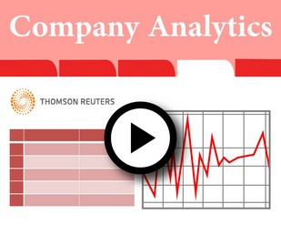 Company Analytics with the Use of Reuters Knowledge [2:05]