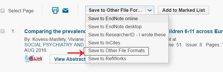 Importing text files from databases - EndNote - LibGuides at