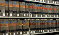 Case Reporters on bookshelves