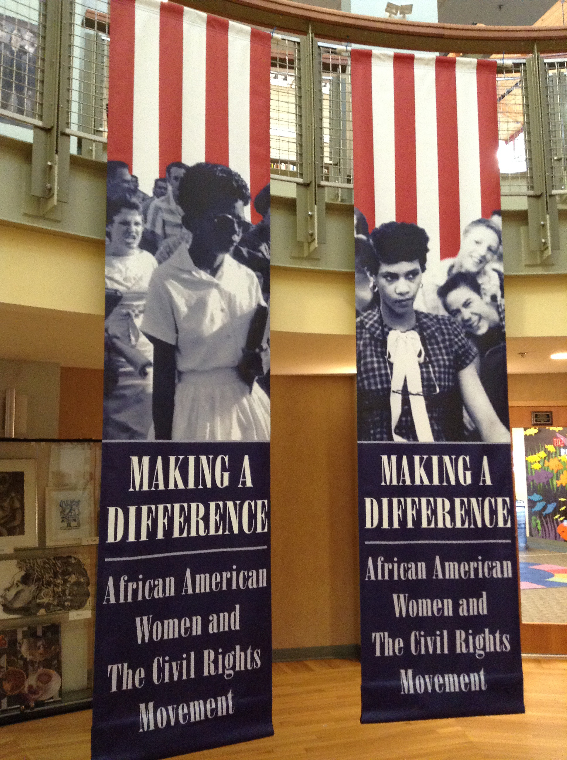 Making a Difference exhibit