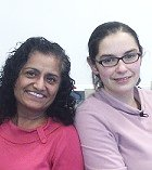 Photo of Alice and Kanwal