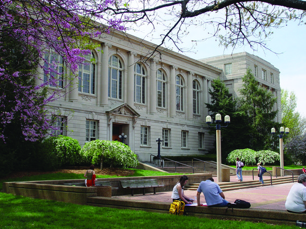 Picture of Ellis library (north side)