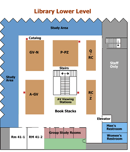 Maps / Parking / Book Drops   Library Information   LibGuides at