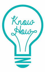 KnowHow lightbulb logo