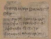 Oxyrhynchus papyrus OP 1303