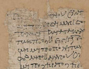 Oxyrhynchus papyrus OP 1306