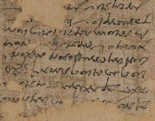 Oxyrhynchus papyrus OP 1309