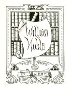 Image of William Noble's bookplate