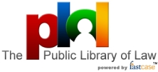 Public Library of Law logo