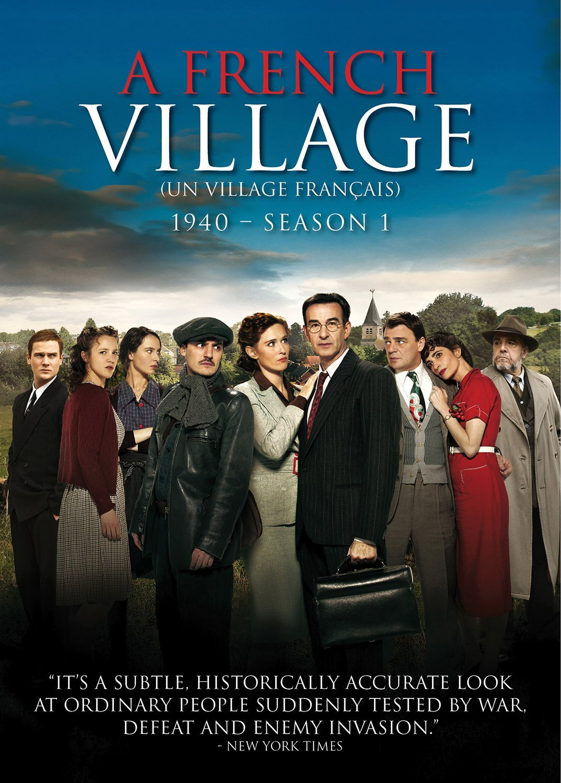 A French Village  - Season 1 dvd cover