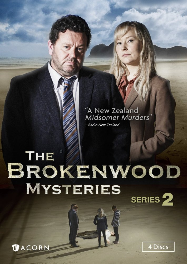 The Brokenwood mysteries. Series 2 dvd cover
