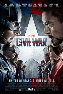Captain America, civil war dvd cover