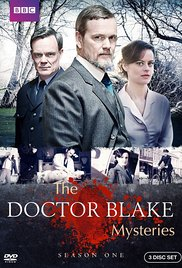 Doctor Blake mysteries Season 1 dvd cover
