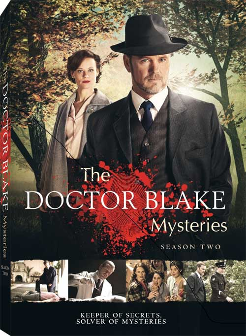 Doctor Blake Mysteries Season 2 dvd cover