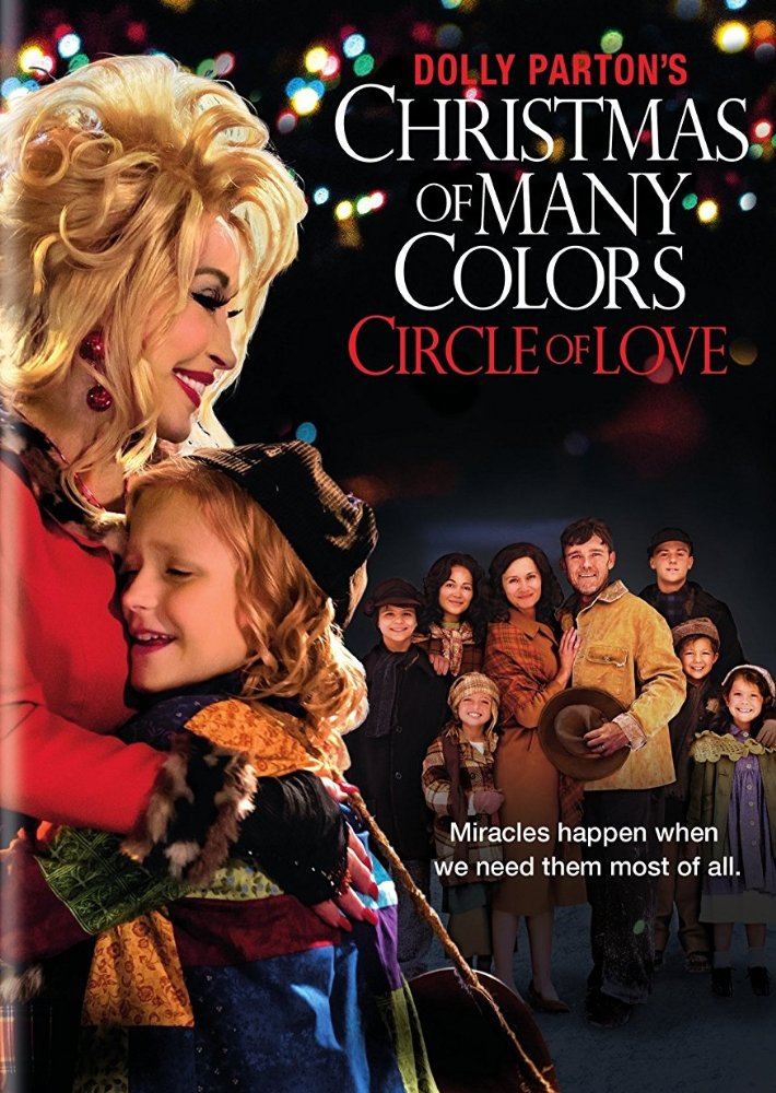Dolly Parton's Christmas of many colors: circle of love dvd cover