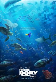 Finding Dory dvd cover