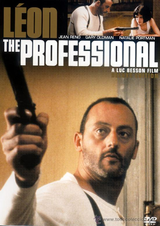 Léon: The Professional dvd cover