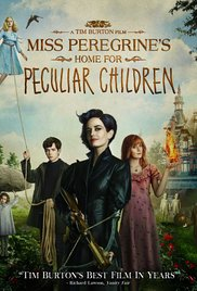 Miss Peregrine's Home for Peculiar Children dvd cover