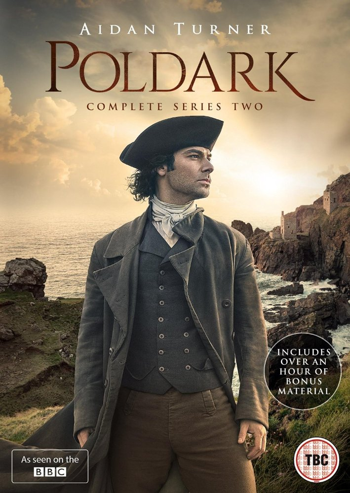 Poldark: Season 2 dvd cover