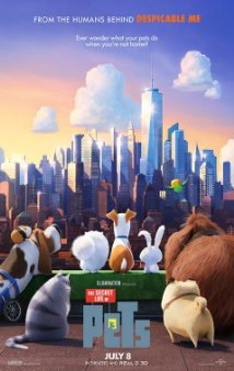 The secret life of pets dvd cover