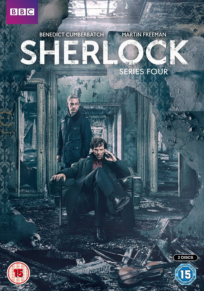 Sherlock: Season 4 dvd cover