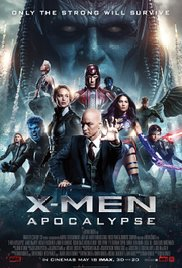 X-Men: Apocalypse dvd cover