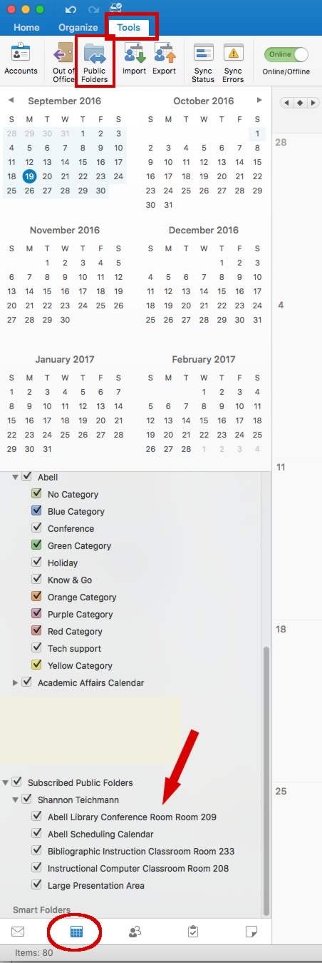 Add Calendar to Outlook on a Mac
