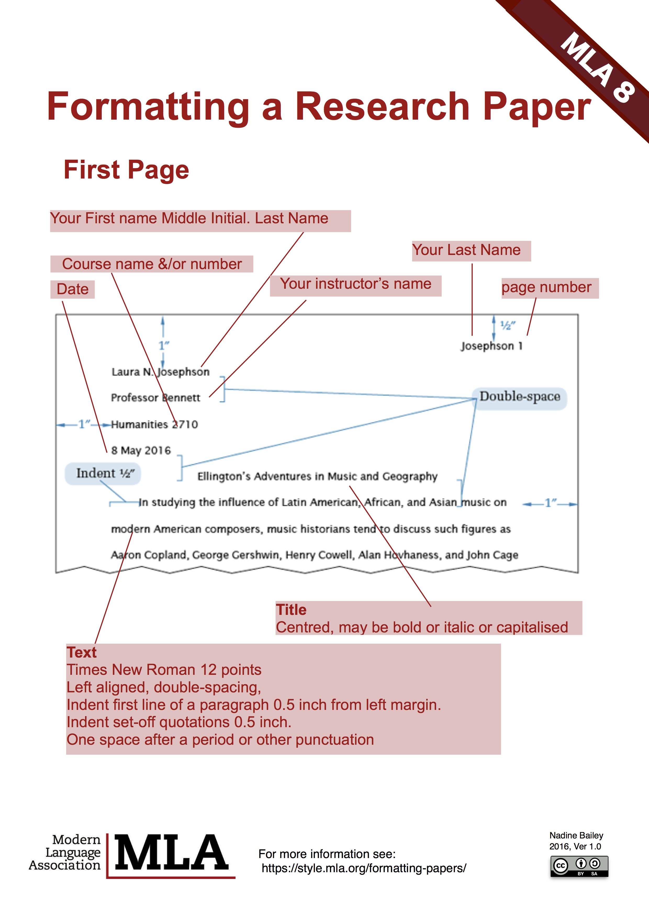 format - mla8 guide