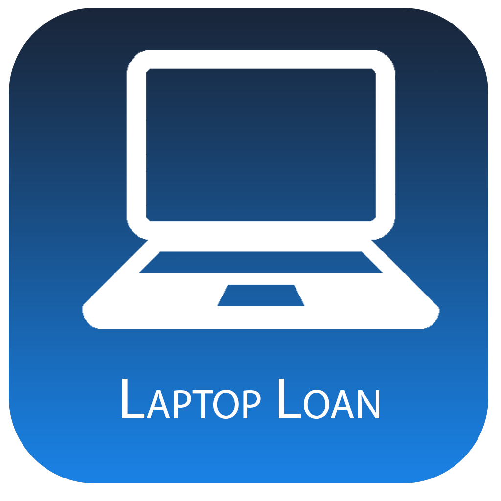 laptop loan icon links to more info