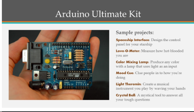 Arduino sample projects