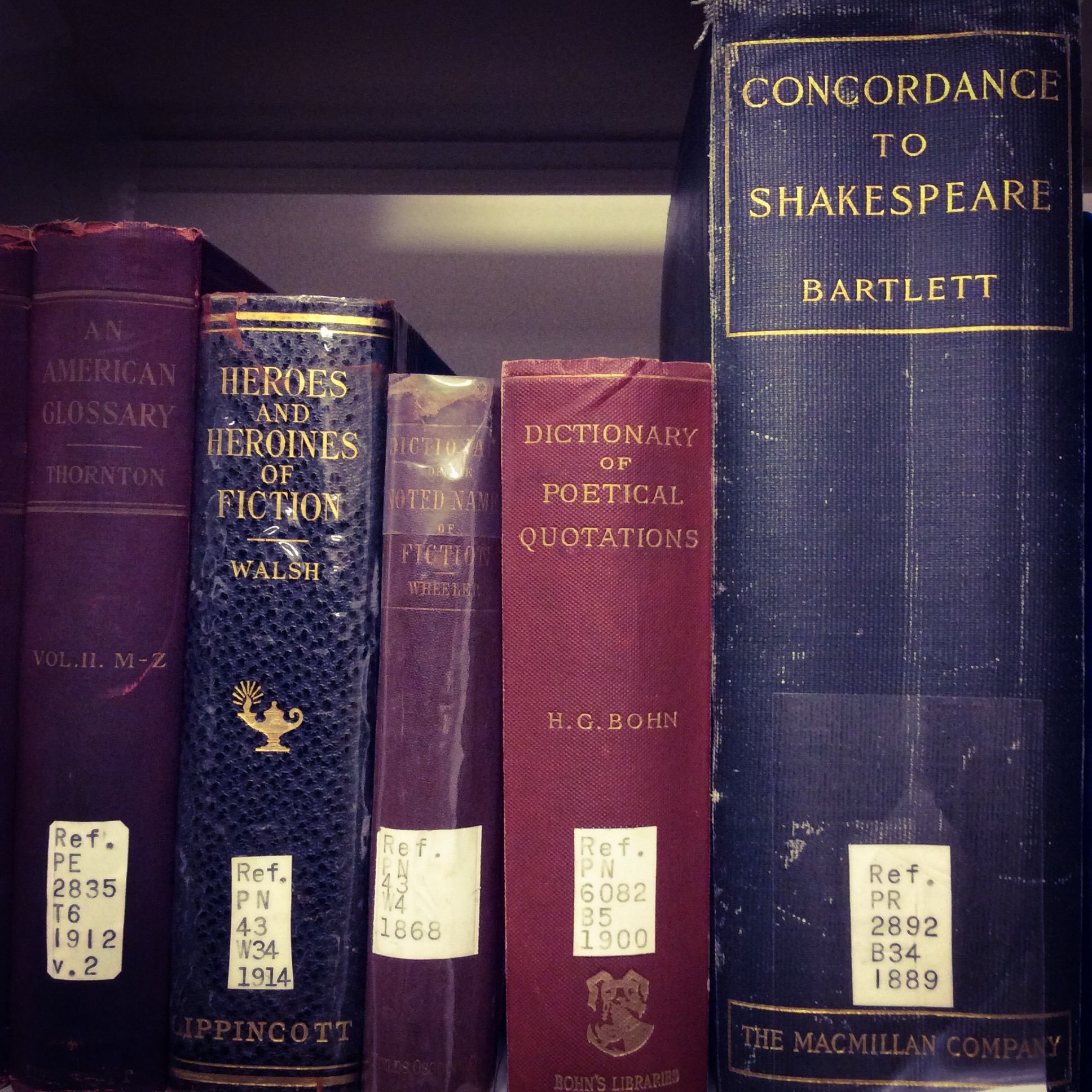 Photo of rare books