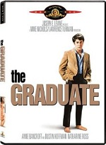 "DVD cover of the film, ""The Graduate"""